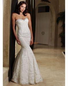 3/4 Arm Reißverschluss Natürlich Brautkleider 2014