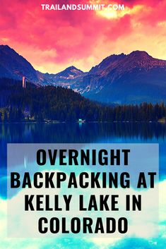 Kelly Lake, among just about every other alpine lake in Colorado, requires quite the arduous hike. The trail is roughly miles in, and another miles out. Colorado Backpacking, Backpacking Trails, Hiking, Alpine Lake, State Forest, Winter Storm, Fort Collins, Travel Backpack, Horseback Riding