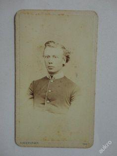 STARA FOTKA 1868 ROK OLMUTZ OLOMOUCI SEEBURGER