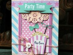 Project Ideas: Create whimsical cards with the Photo Mats Die. Party Time? Excellent!