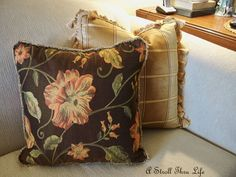 A Stroll Thru Life: Family Room - Brown-Camel and Cream