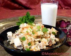 Meine Kochlust: Arabischer Reis-Geflügel-Salat - Arabic rice poultry salad