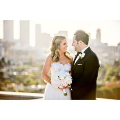 Okay @jay_eskowitz you know I adore you...can't stop with the sneak peeks! I just love the way you are looking at @eskowitzm!! #wedding #losangeles #losangeleswedding #beverlyhills #skyline #love #married #bride #groom #bouquet @fslosangeles @ericbuterbaugh @jowyproductions #losangelesweddingphotographer #santabarbaraweddingphotographer #rooftop