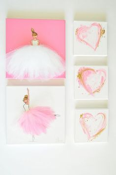 Original Art Heart Painting Heart Art Bedroom Art Bedroom Decor Nursery Artwork Pink Gold Art Abstract Art Modern Art Pink Painting - All About Decoration Nursery Artwork, Bedroom Art, Nursery Decor, Project Nursery, Girl Nursery, Wall Decor, Ballerina Bedroom, Mermaid Bedroom, Nursery Crib
