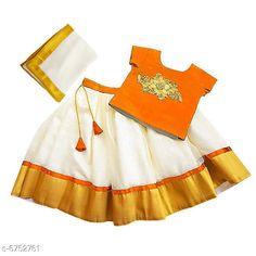Lehenga Cholis Elegant Banglori Silk Kids Lehenga Choli Top Fabric: Taffeta   Lehenga Fabric: Georgette Dupatta Fabric: Georgette Sleeve Length: Short Sleeves Top Pattern: Embroidered Dupatta Pattern: Zari Woven Multipack: 1 Sizes:  4-5 Years (Bust Size: 22 inCholi Length Size: 12 inLehenga Waist Size: 22 in Lehenga Length Size: 25 in Duppatta Length Size: 1.5 m)  5-6 Years (Bust Size: 23 inCholi Length Size: 12.5 inLehenga Waist Size: 23 in Lehenga Length Size: 26 in Duppatta Length Size: 1.5 m)  3-4 Years (Bust Size: 20 inCholi Length Size: 11.5 inLehenga Waist Size: 20 in Lehenga Length Size: 23 in Duppatta Length Size: 1.5 m)  6-12 Months (Bust Size: 18 inCholi Length Size: 10 inLehenga Waist Size: 18 in Lehenga Length Size: 18 in Duppatta Length Size: 1.5 m)  6-7 Years (Bust Size: 24 inCholi Length Size: 13 inLehenga Waist Size: 24 in Lehenga Length Size: 27 in Duppatta Length Size: 1.5 m)  2-3 Years (Bust Size: 19 inCholi Length Size: 11 inLehenga Waist Size: 19 in Lehenga Length Size: 20 in Duppatta Length Size: 1.5 m)  Country of Origin: India Sizes Available: 3-6 Months, 6-9 Months, 6-12 Months, 9-12 Months, 12-18 Months, 18-24 Months, 1-2 Years, 2-3 Years, 3-4 Years, 4-5 Years, 5-6 Years, 6-7 Years, 7-8 Years, 8-9 Years, 9-10 Years   Catalog Rating: ★4.2 (13576)  Catalog Name: Cutiepie Stylish Kids Girls Lehanga Cholis CatalogID_1076864 C61-SC1137 Code: 414-6752761-1401