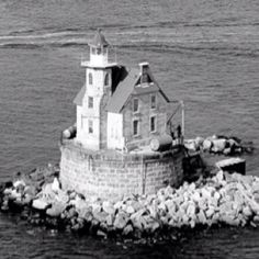 Race rock lighthouse. One of the most haunted places in the country!
