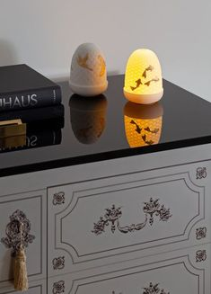 Cranes Dome Table Lamp | Fancy.com Bar Fancy, Asian Interior, Led Module, Hand Engraving, White Porcelain, It's Your Birthday, Crane, Koi, Art Direction
