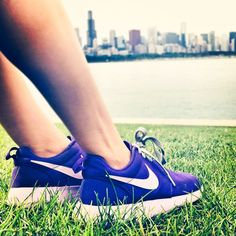 Nikes and Chicago skyline