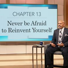 """""""Never be afraid to reinvent yourself! I started as a comedian, became a radio show host, then a game show host and now I have my own talk show. Didn't…"""""""
