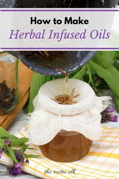 Making herbal infused oils is super easy and can be incredibly beneficial when making salves or soaps. Here are 4 methods you can use to make them yourself