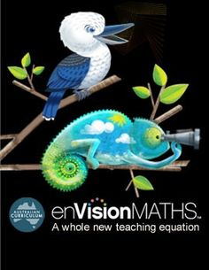 enVisionMATHS, a topic-driven teaching and learning program aligned with the Australian Curriculum: Mathematics.    enVisionMATHS combines powerful visual learning strategies that make meaningful connections between known and new Maths ideas for your students, with breakthrough digital teaching and learning tools that cater to each teacher's technological expertise.