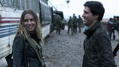 Falling Skies - Maggie and Hal. I loved these two and wanted them as a couple from the moment Maggie saw through Hal's smooth talking and took him down in one punch :)