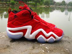 adidas Crazy 8 - Red/White   KicksOnFire.com