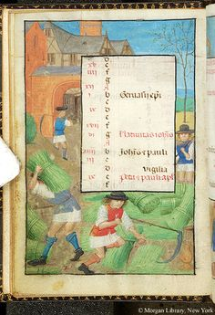 June 2 - Book of Hours - Belgium, ca. 1490 - MS S.7 fol. 6v
