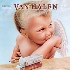 """Jump"" is a song released on December 1983 by the American rock group Van Halen.Rock and Roll,,Van Halen - Jump. Iconic Album Covers, Greatest Album Covers, Rock Album Covers, Classic Album Covers, Music Album Covers, Music Albums, Book Covers, Van Halen Album Covers, David Lee Roth"