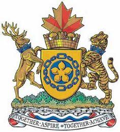 Coat of arms of Hamilton, Ontario, Canada