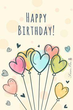 Birthday Congratulations, Happy Birthday Wishes Cards, Happy Birthday Girls, Happy Birthday Pictures, Birthday Wishes Quotes, Happy Birthday Quotes, Birthday Fun, Birthday Cards, Birthday Ideas