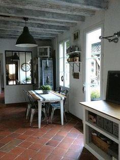 Cuisine Maison de famille House Design, Terracotta Floor, Pretty Room, House, Cottage Interiors, Home, Interior, Kitchen Design, Home Decor