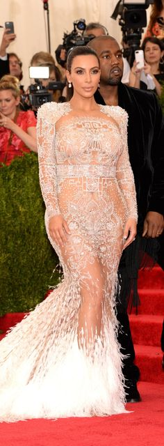 Pin for Later: Is This Really Where Kim Kardashian Got Her Met Gala Inspiration From?
