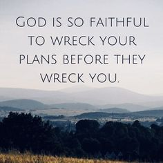 God's plans and timing are perfect. Faith Quotes, Bible Quotes, Me Quotes, Bible Verses, Christian Life, Christian Quotes, Words Of Encouragement, Christian Encouragement, Quotes About God