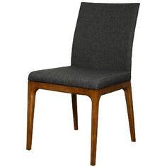 Devon Dining Ash Wood Fabric Chair Night Shade - Harrington Galleries