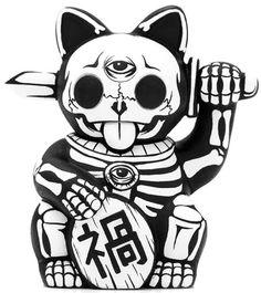 524 best tattoo ideas images in 2019 draw drawings skulls Future School Buses maneki neko neko cat fish drawings vinyl toys designer toys cat tattoo traditional tattoo future tattoos cat skeleton