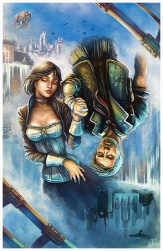 INFINITE - Lives, lived, will live. by DarthiaWolf on deviantART #Bioshock