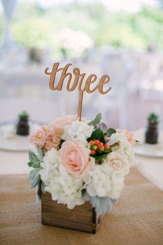 Elegant Peach, Blush and Pale Sage Wedding   Kristen Honeycutt Photography…