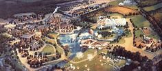 Disney's America would have been built in northern Virginia near D.C. (The Hall of Presidents would have been moved here)