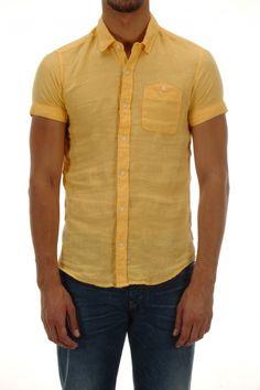Salsa Man Shirt - Vintage Yellow