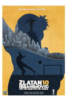 FiFA WORLD CUP CAMPAIGN 2014 by Steven Millescamps, via Behance