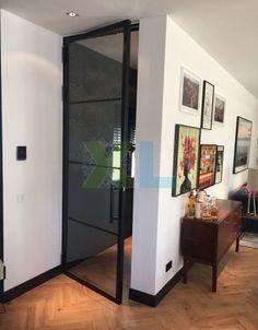 Home Living, Living Area, Crittal Doors, Steel Doors And Windows, Barn Door Designs, House Doors, Internal Doors, Living Room Interior, Interior Inspiration
