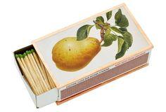 Apple & Pear Matchbox