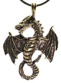 Bronze Celtic Dragon