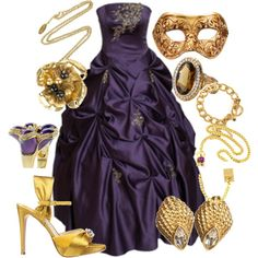 """Masquerade Ball"" by lovepeacejoy on Polyvore 