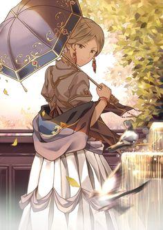 Akagami no Shirayukihime - Zen and Shirayuki #manga #anime Miss Kiki