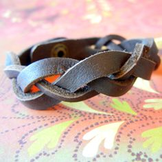 how to make leather bracelets - Google Search