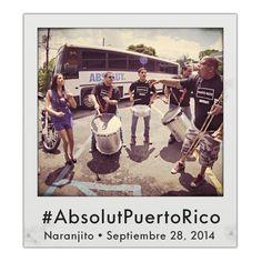 Trips by Absolut: Naranjito • Domingo 28 de septiembre de 2014 #AbsolutPuertoRico #Absolut #PuertoRico #TripsbyAbsolut