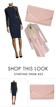 """""""Untitled #24"""" by dzenitab ❤ liked on Polyvore featuring beauty, French Connection, Sasha and Genny"""