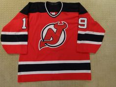 game worn used hockey jersey - bobby carpenter - 1997-98 new jersey devils from $750.0