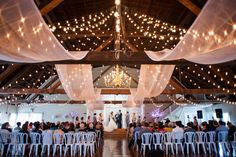 large barn wedding