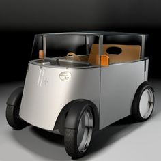 Hydrogen Car by Philippe Starck, 2005