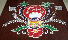 20+ Best Pongal Kolam Designs and Sankranti Rangoli Patterns 2018 - K4 Craft Rangoli Designs Latest, Simple Rangoli Designs Images, Rangoli Designs Flower, Small Rangoli Design, Rangoli Border Designs, Rangoli Designs Diwali, Rangoli Designs With Dots, Rangoli With Dots, Beautiful Rangoli Designs