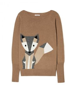 df87667ee7 Benetton Cashmere Blend Fox Print Jumper Women s Jumpers