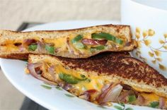 Kicked Up Grilled Cheese!