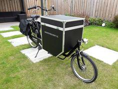 Deze Cargo-bike gemaakt van oud frame zonder bak. nu te gebruiken voor gereedschap of gewoon de boodschappen. Cargo Bike, Baby Strollers, Children, Baby Prams, Young Children, Boys, Kids, Prams, Strollers