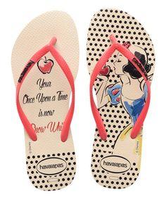 Snow White flip flops!!!