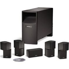The Bose Acoustimass 10 Series IV home entertainment speaker system brings 5.1-channel sound to your movies and music. Connect it to your home theater receiver and enjoy Bose quality sound. his system includes an Acoustimass bass module, four Direct/Reflecting Cube speakers, and a center channel speaker. The Acoustimass 10 Series IV speaker system is engineered to fill the room with beautiful sound, not bulky speakers. You can hide the Acoustimass module virtually anywhere in