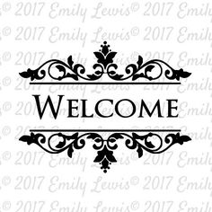 welcome sign svg  welcome svg  welcome svg file  w…