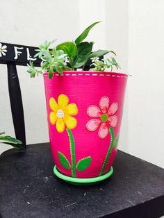 Flores base fucsia